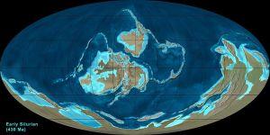earth 430 million years ago